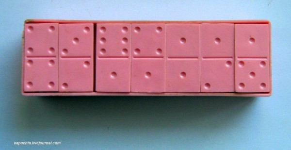 Розовое домино