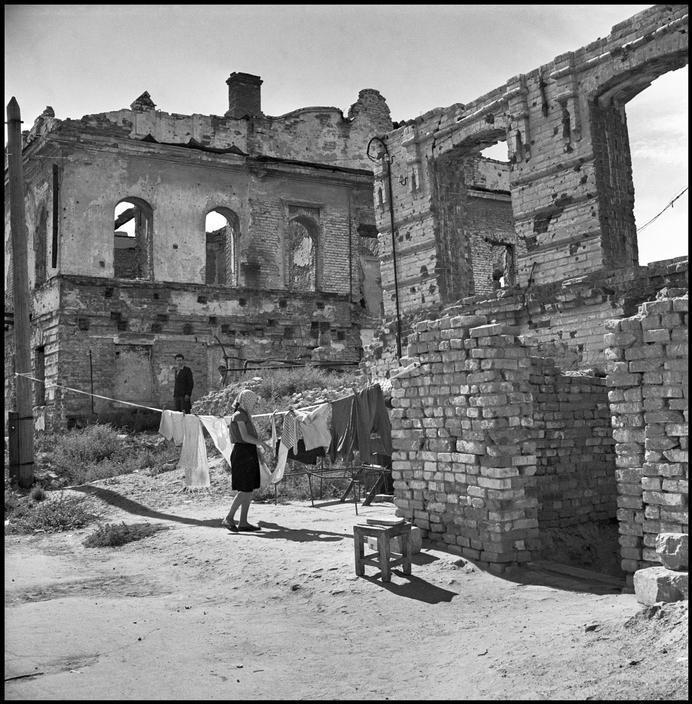 В Сталинграде 1947 год