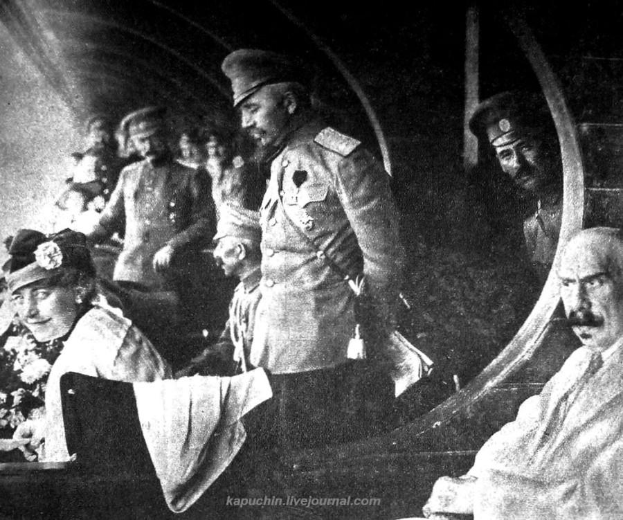 Генерал Краснов Ростов 1918 год