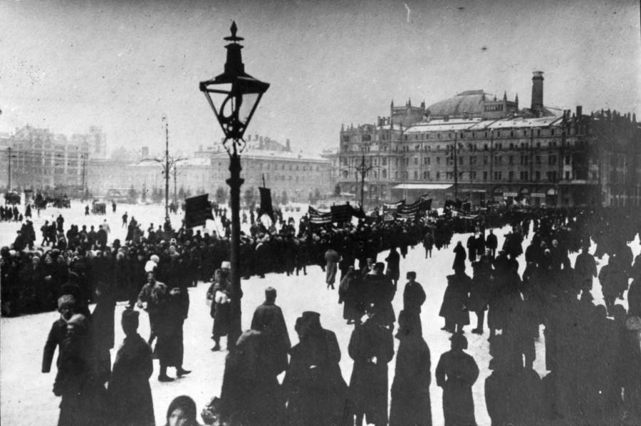 Похороны большевиков 1917 год 1