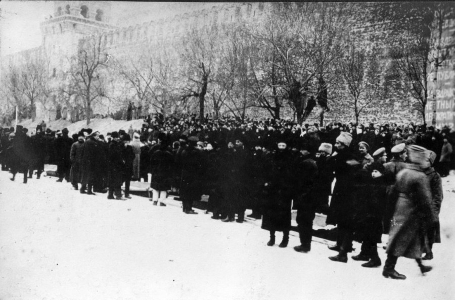 Похороны большевиков 1917 год 2