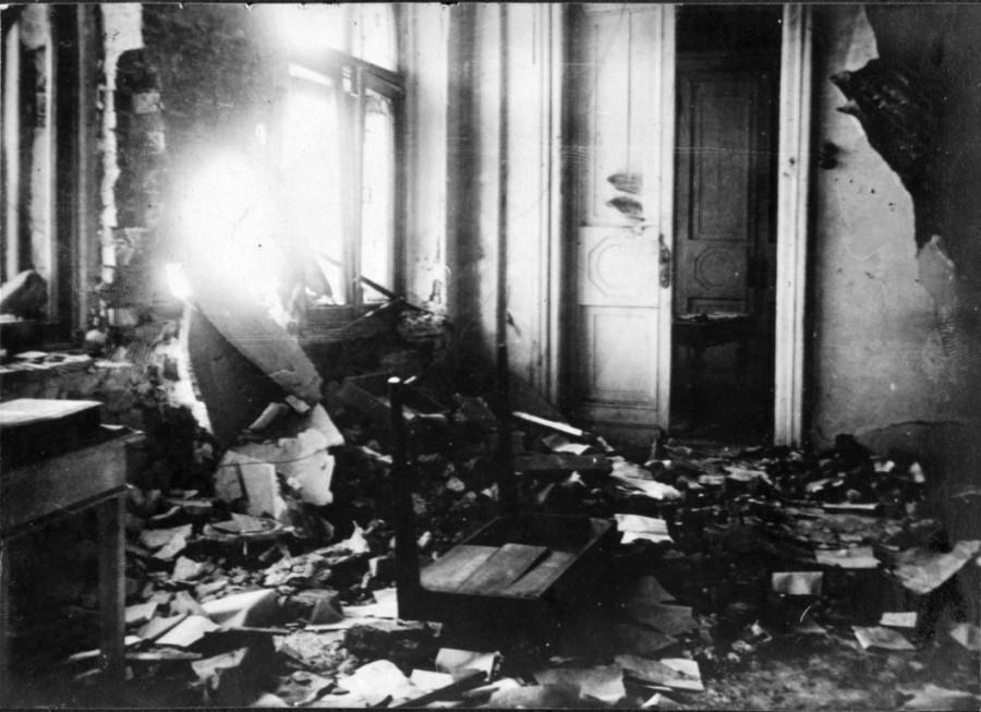 Разрушения в Москве  1917 год 4