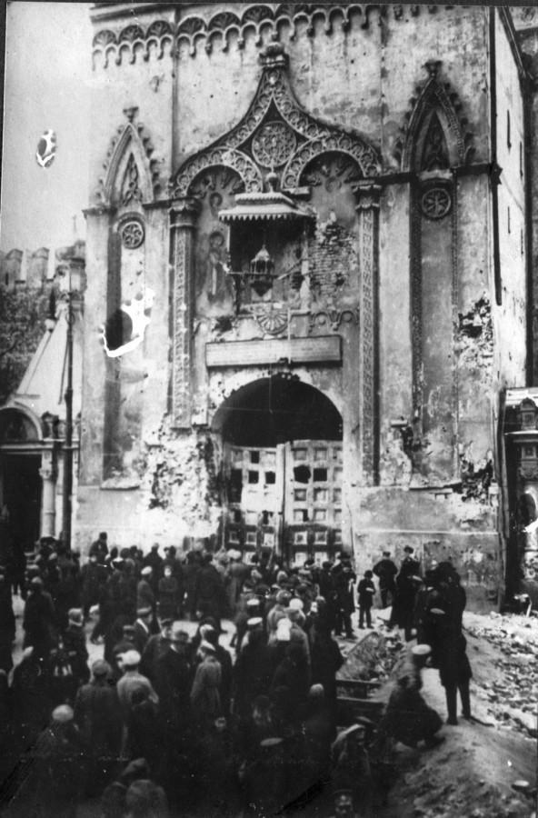 Разрушения в Москве  1917 год 5