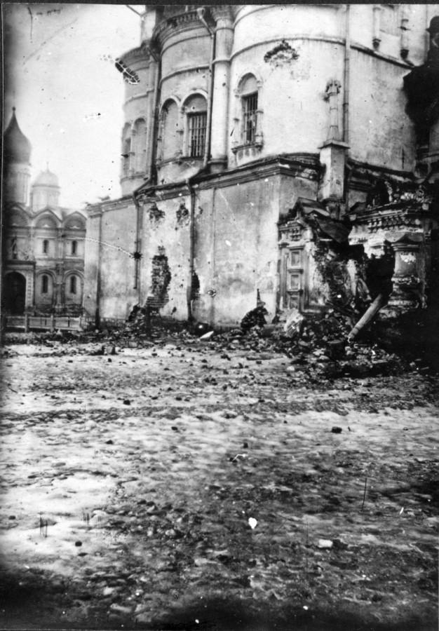Разрушения в Москве  1917 год 6
