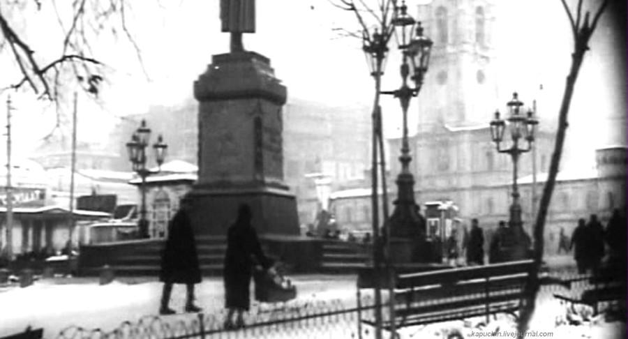 Страстная площадь 1928 год