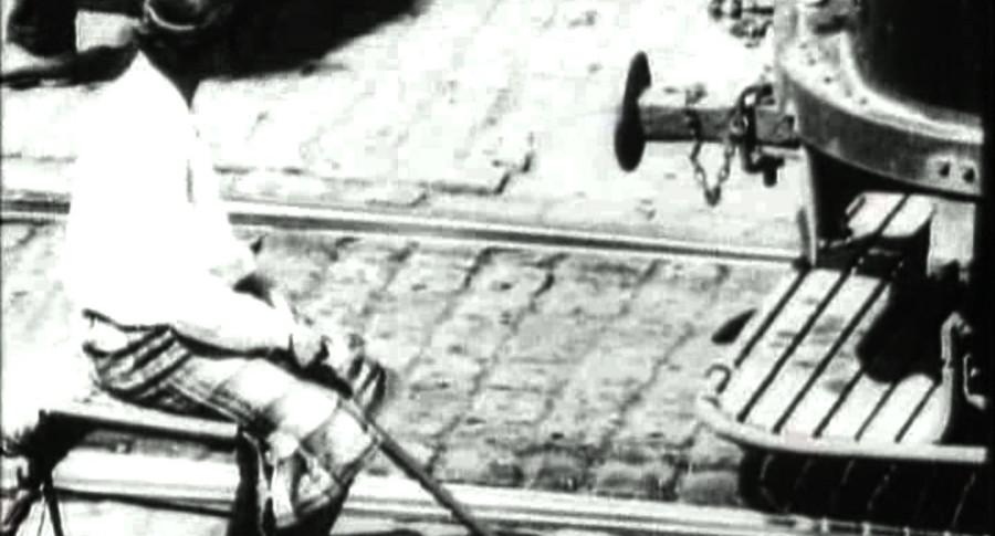 Трамваи  Стрелочница