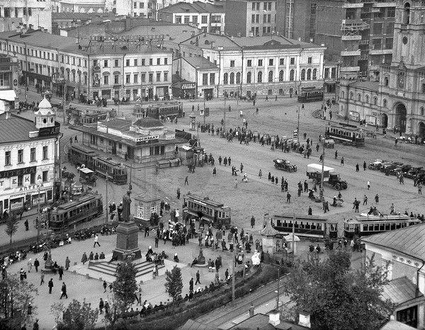 Шайхет Страстная площвдь 1928 год