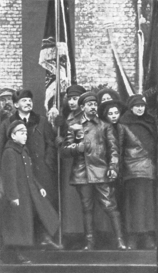 Драбкина митинг ноябрь 1918 года