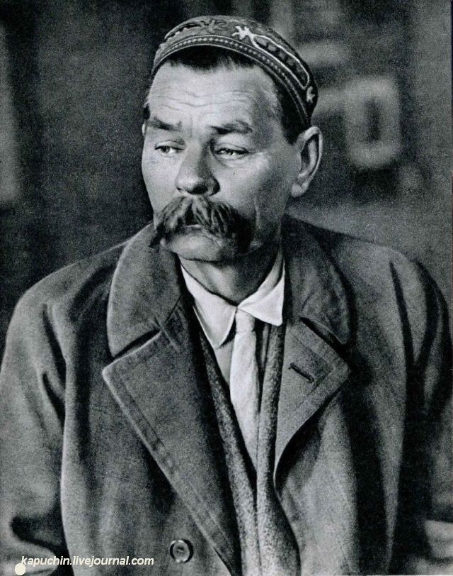 Максим Горький 1933 год