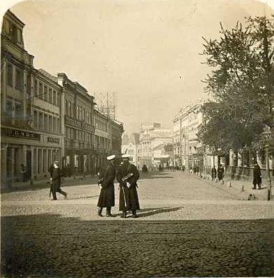 Кузнецкий мост фото ок. 1905  года