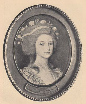 Лосенко Портрет г-жи  Хлюстиной(рожд. Майковой)