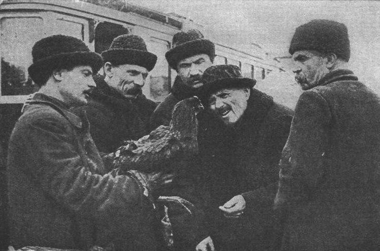 Уличная сцена в Москве 1922 год