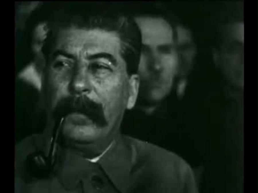 Сталин кадр кинохроники