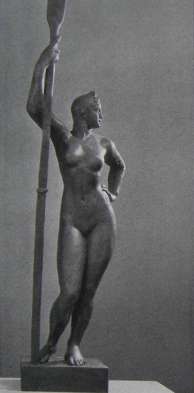 Шадр Девушка с веслом