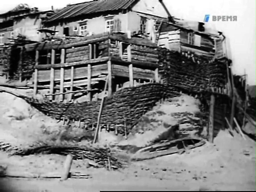 Новосибирск в 1934 году кинокадр