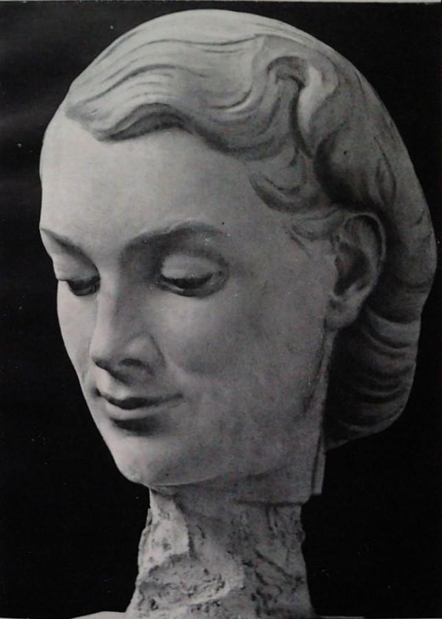 Манизер Физкультурница(деталь) 1947 год
