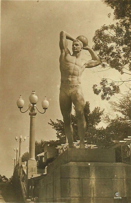 Сочи  Физкультурник на Сталинском проспекте 1937 год