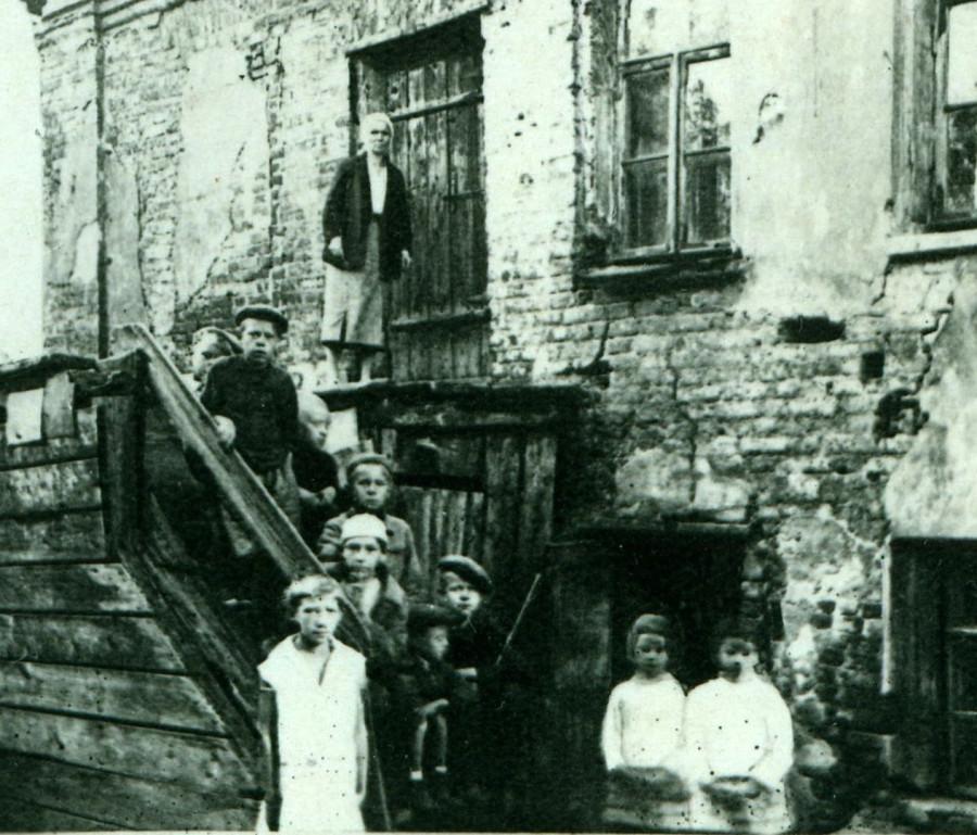 Москва Первая половина 1930-х годов(фрагмент фотографии)