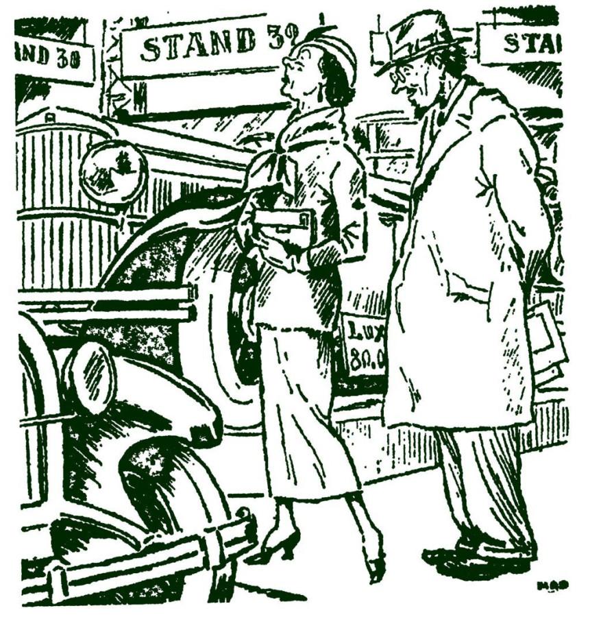 Прошлое карикатура 1931 год