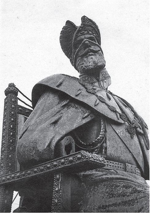 Снятие памятника Александру III 1918 год