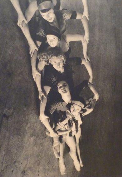 М. Бурк-Уайт В московской  школе балета 1930 год
