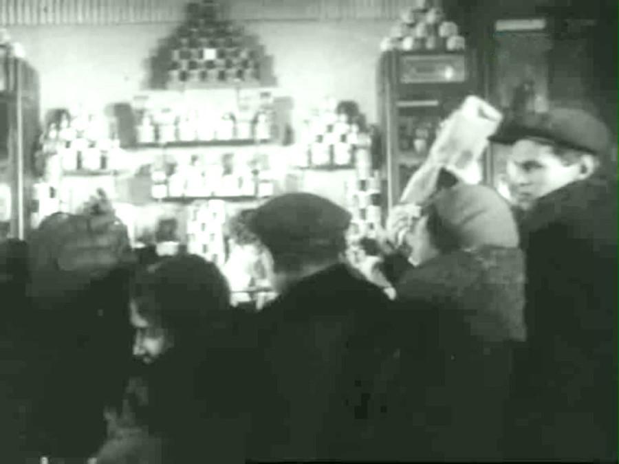 В Елисеевском магазине 31 декабря 1935 года