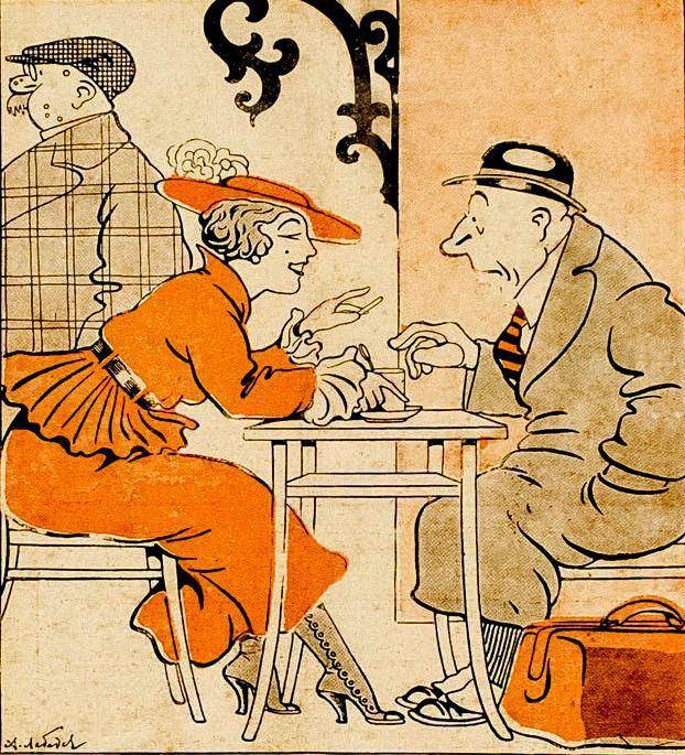 Из журнала Всемирный юмор №36 1916 год (2)