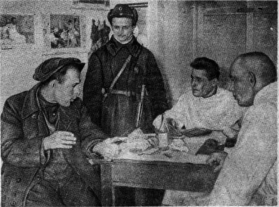 В московском вытрезвителе 1929 год