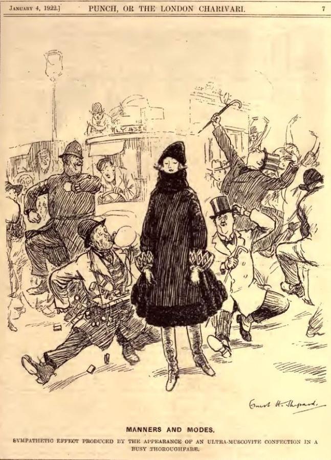 Москвичка 1922 год