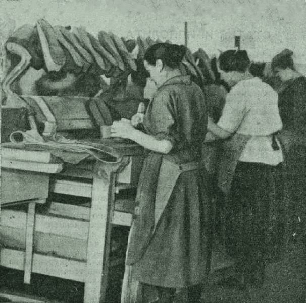 На московском заводе Красный богатырь 1928 год