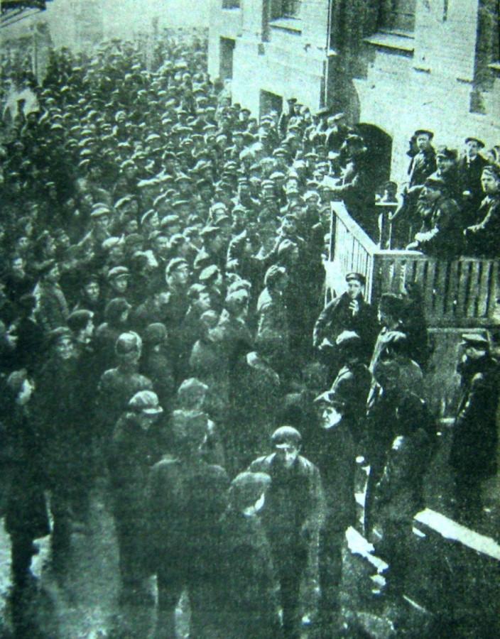На московской бирже труда 1920-е нэп