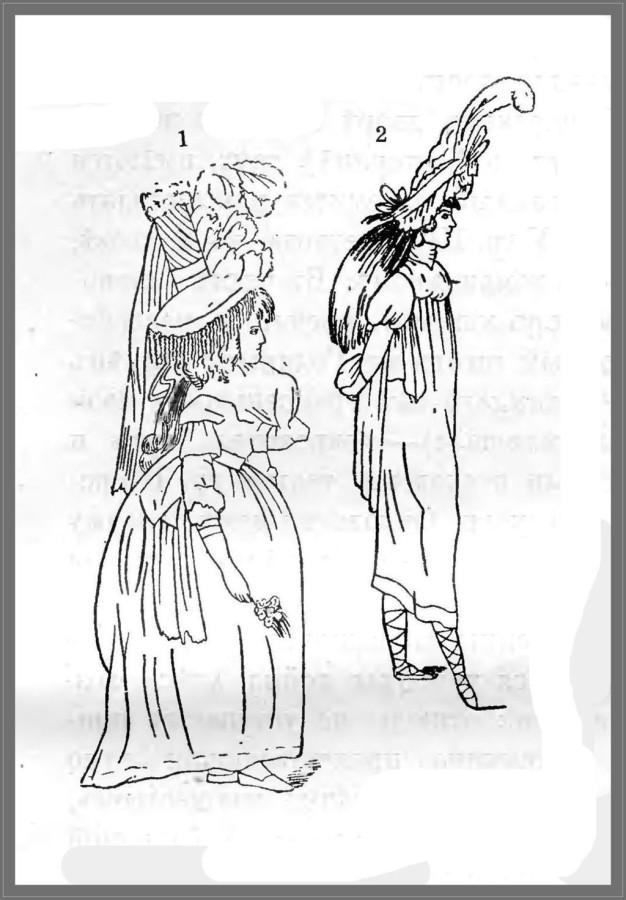 Мода конца XVIII века (1-2) 1