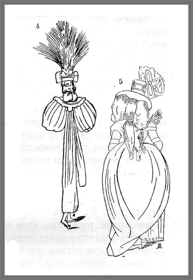 Мода конца XVIII века (4-5)