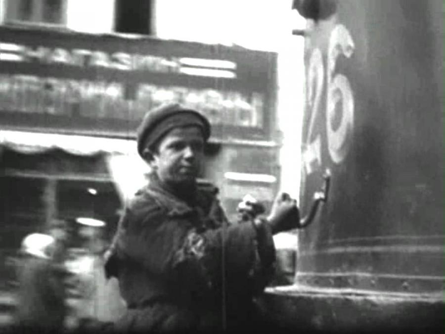 Беспризорник Москва 1920-е