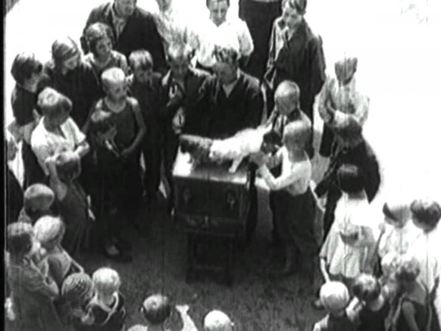 Шарманщик Москва 1920-е