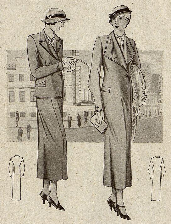 Женский костюм Москвошвей 1935 год 8