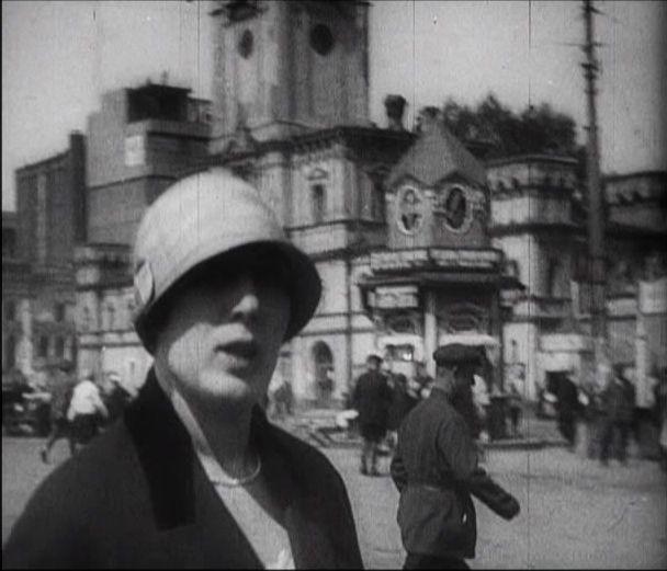 Москва Страстная площадь 1928 год