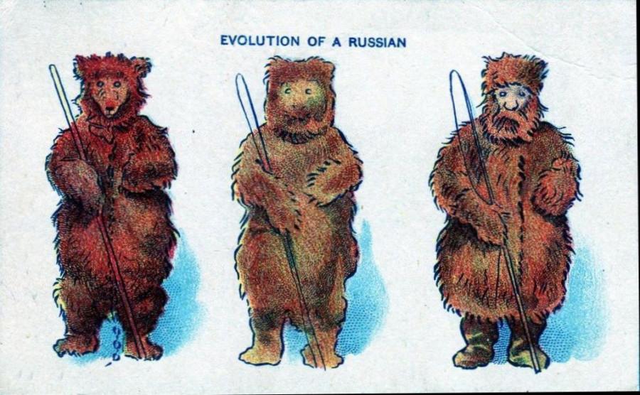Эволюция русских 1908 год