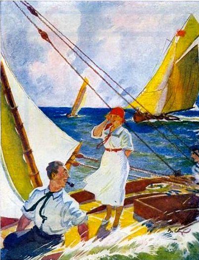 Сварог Рис к обложке журнала Красная панорама 1927 год