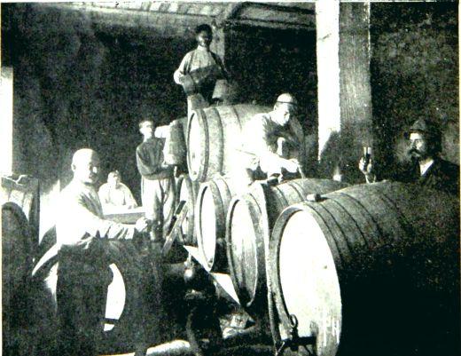 Крым Кооперативный винный подвал 1920-е