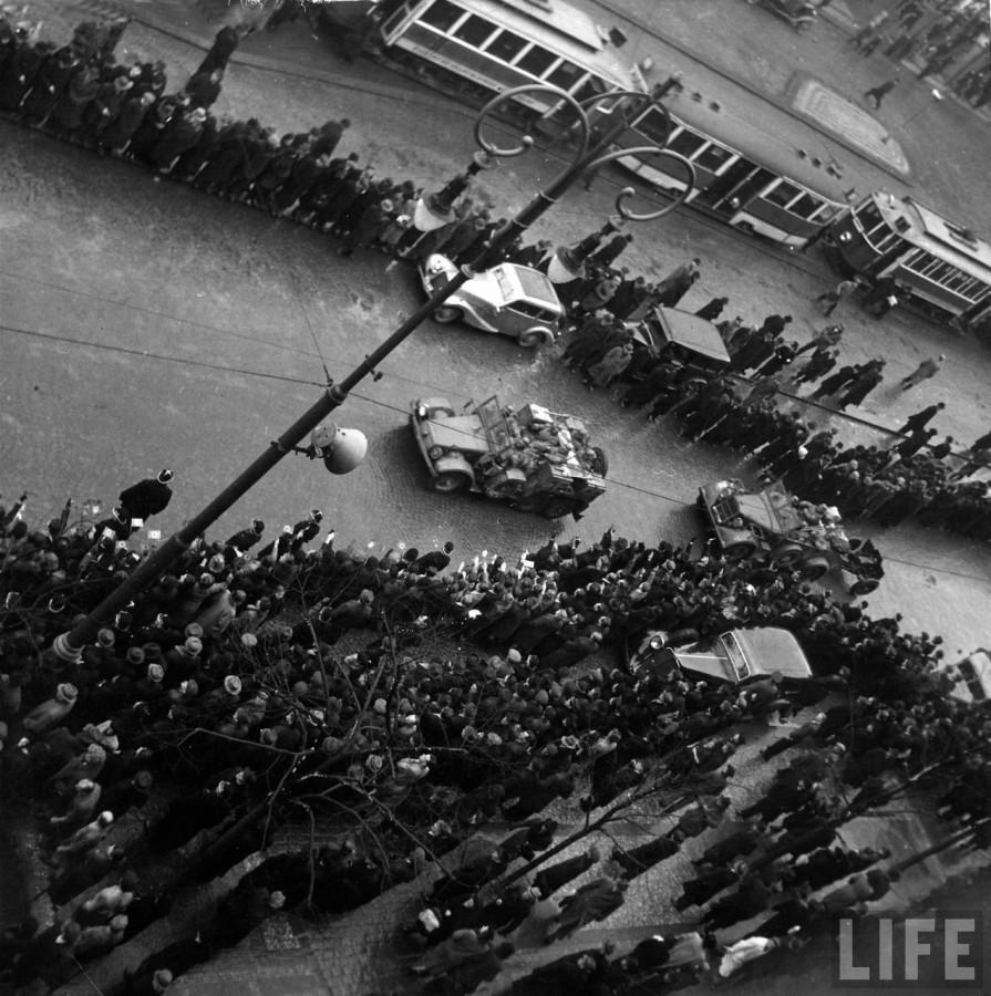 Прага Март 1939 год (2)