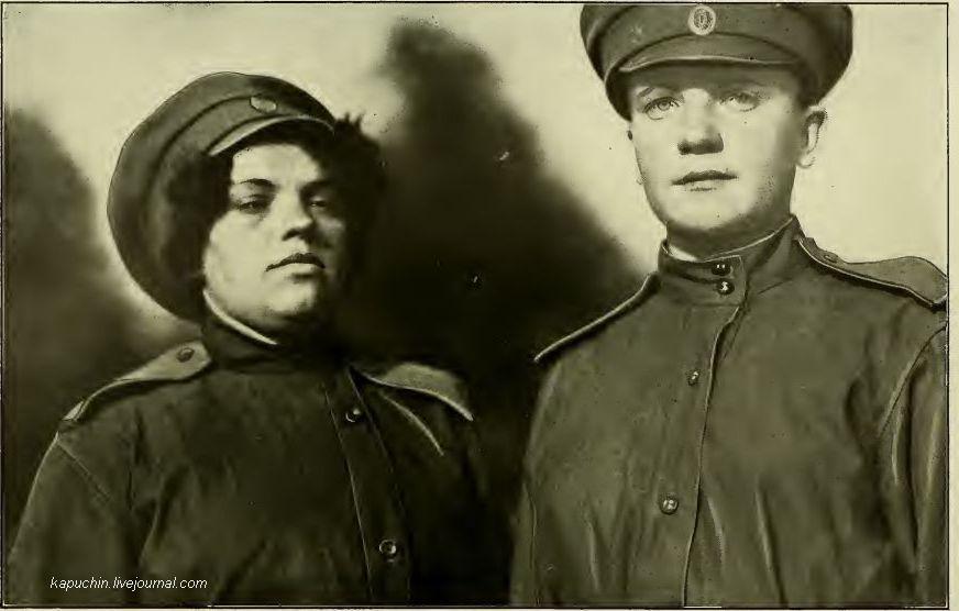 Ударницы женского батальона М. Бочкаревой 1917