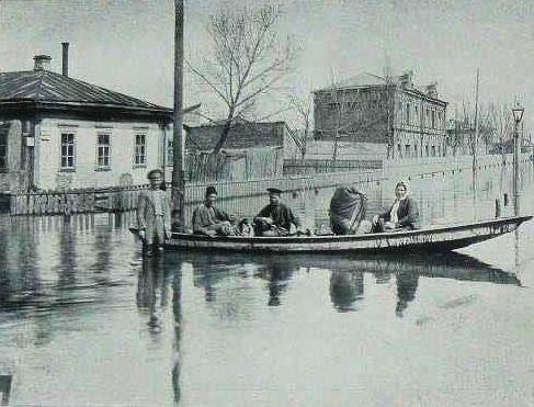 Наводнение в Киеве 1915 год