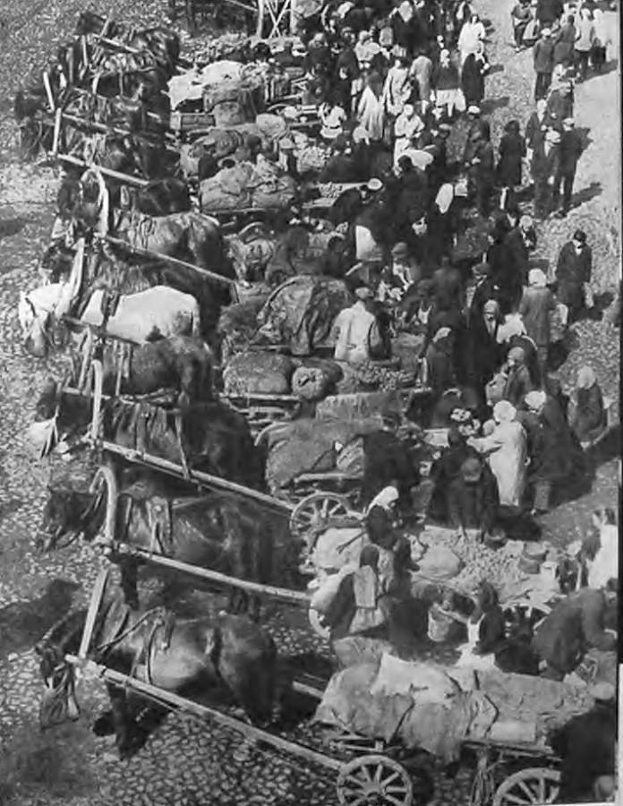 На колхозном рынке ок 1933 г (1)