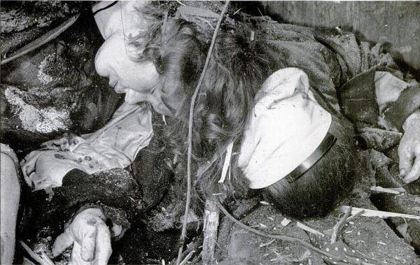 Жертвы немецкого авианалета Вязьма 16 сентября