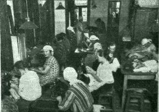 В доме беспризорной матери в швейной мастерской Москва 1928 год