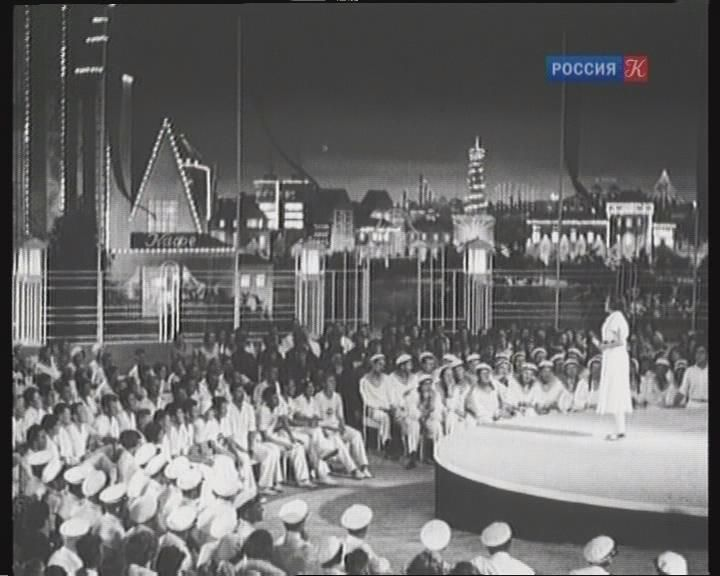 В парке Горького кадр из фильма  Частная жизнь Пера Виноградова 1934 год