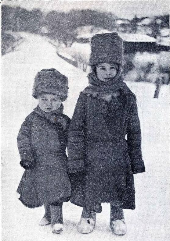 В. Савельев (Москва) Зимой в деревне 1926 год
