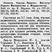 Ленинградский институт охраны материнства и младенчества