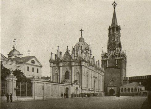 Воскресенский монастырь в Московском Кремле